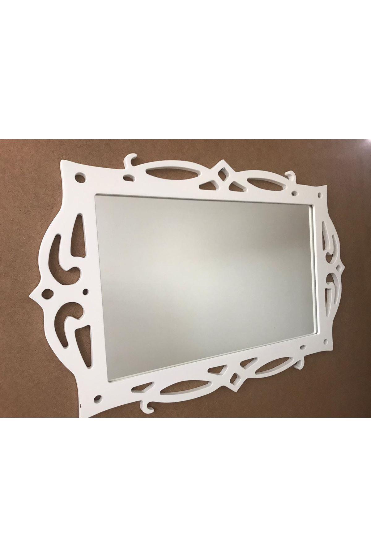 Dekoratif Çerçeveli Ayna